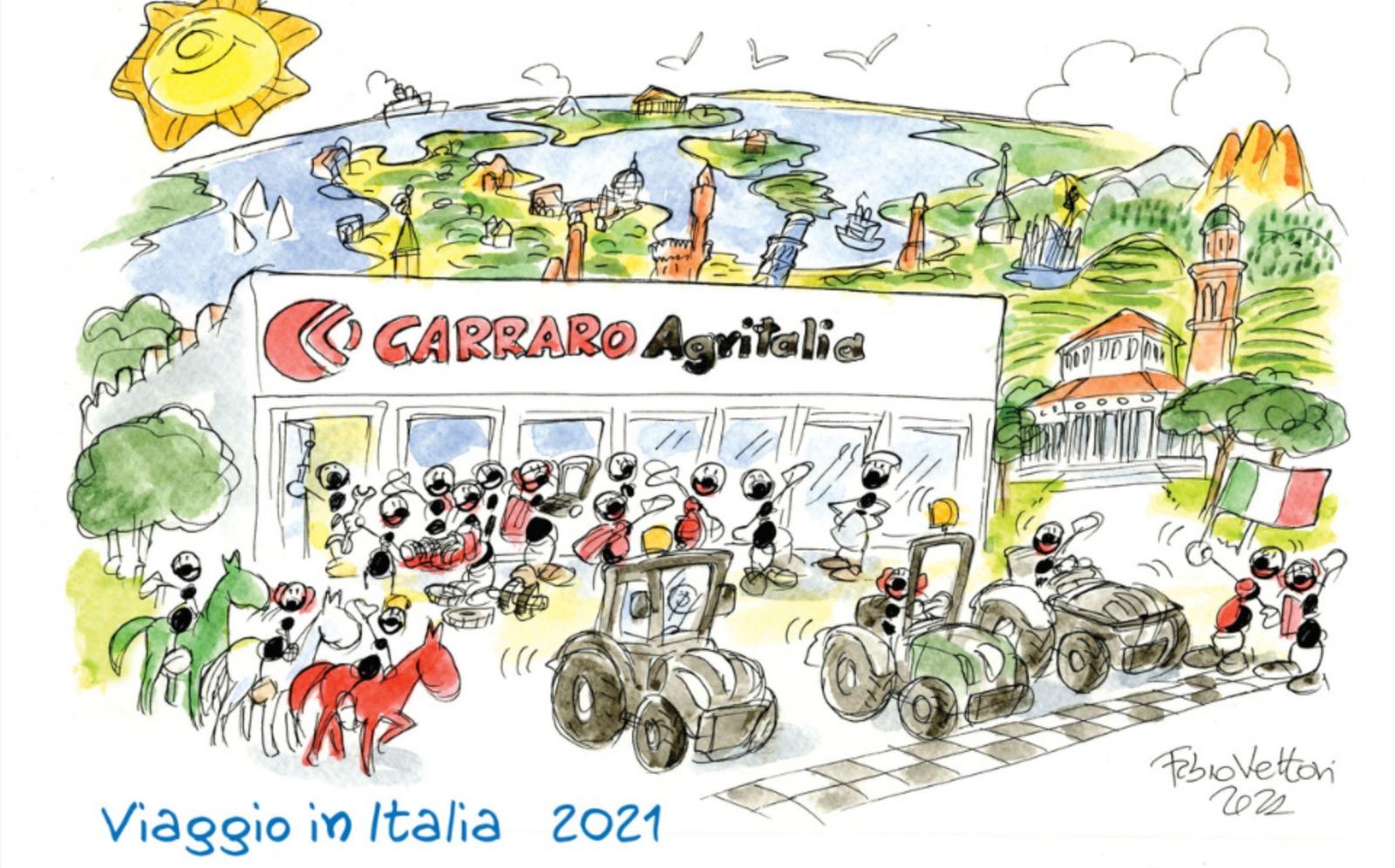 Il viaggio in Italia di Carraro Tractors fa tappa ad Eboli.